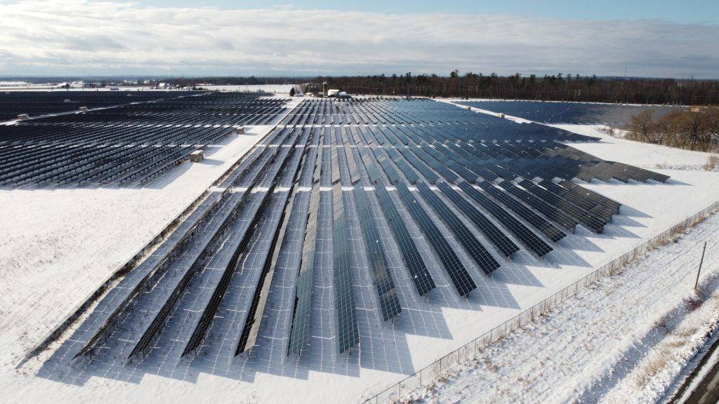 Solaranlage Montage Flachdach