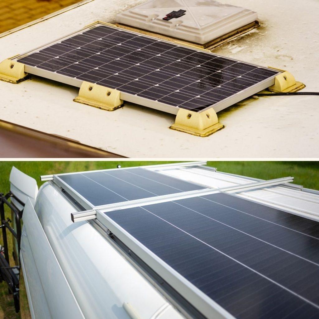 Einbau Solaranlage Wohnmobil Montagesysteme