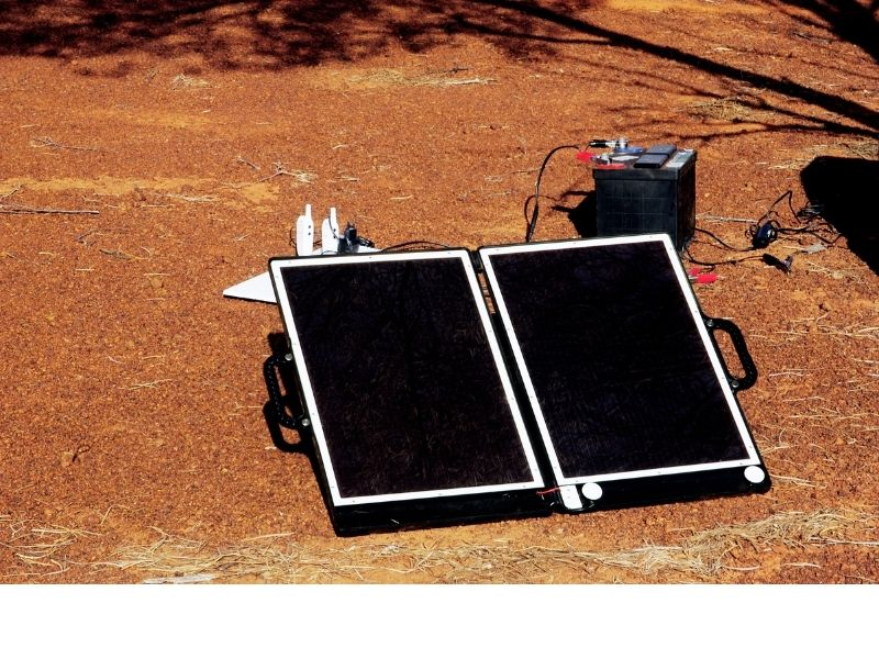 Einbau Solaranlage Wohnmobil Solartasche