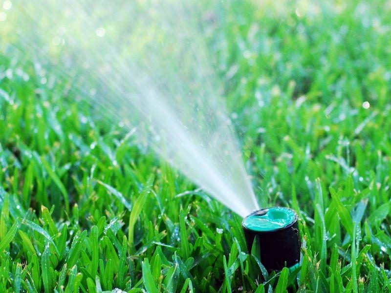 Solaranlage Garten Bewässerung