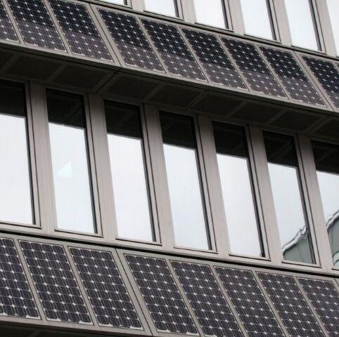 Solaranlage Kaltfassade