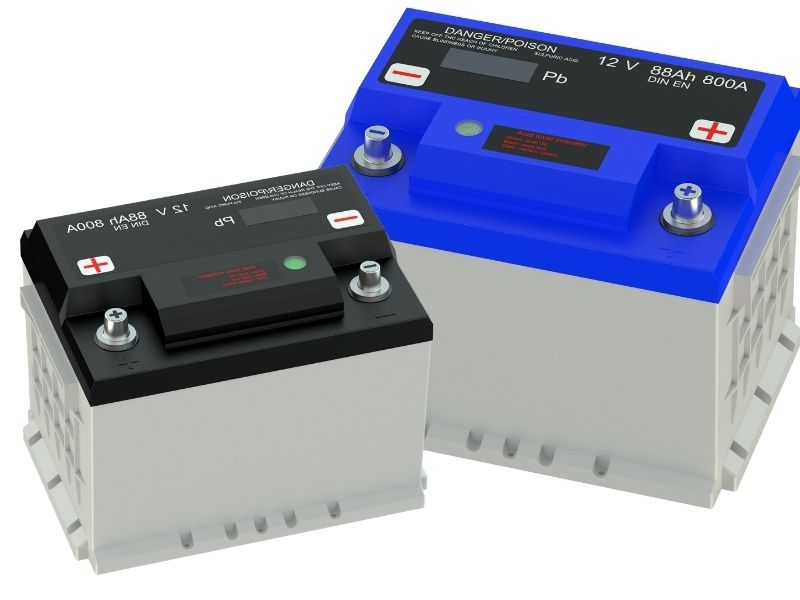 Solaranlage Wohnmobil Batterie