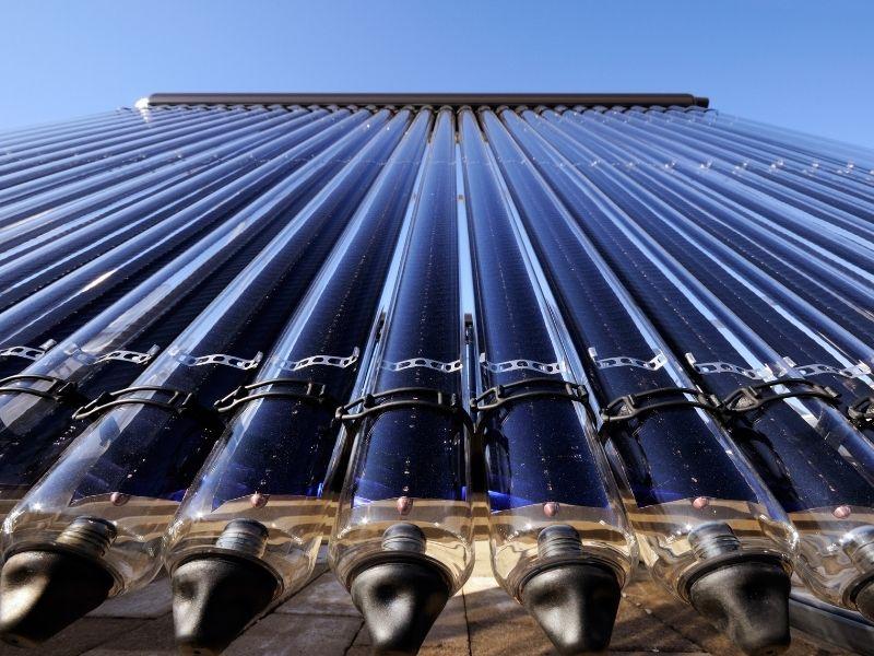 Solarthermie Aufbau
