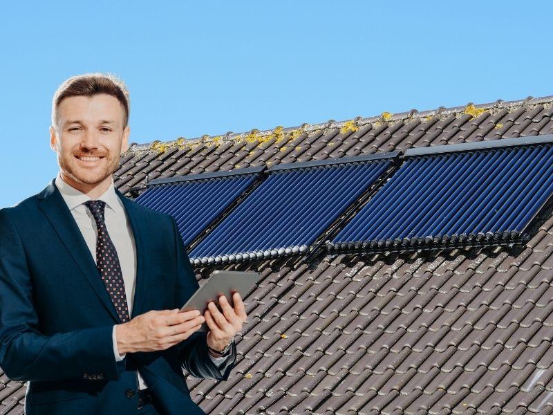 Solarthermie Förderung KfW-Bank