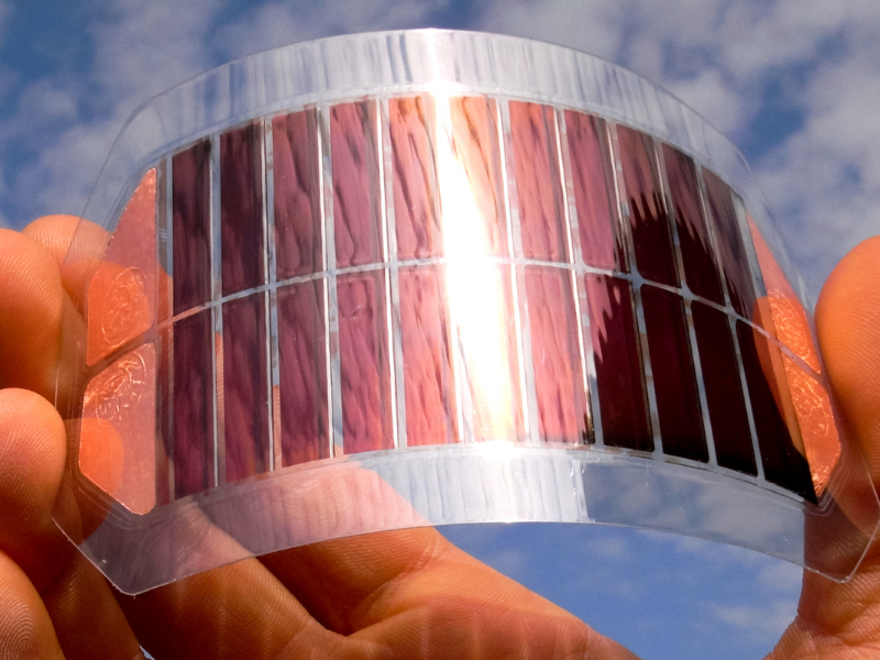 Solarenergie Zukunft Solarfolie